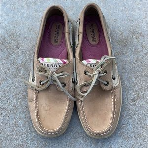 Sperry Topsider Plaid Boatshoes